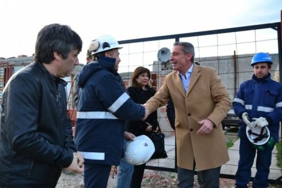 Más de 500 familias se verán beneficiadas con la red de gas natural en el Área 12