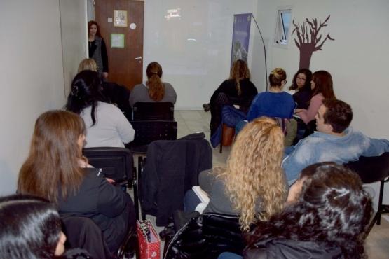 Más de 25 personas participaron de la charla sobre trata de personas