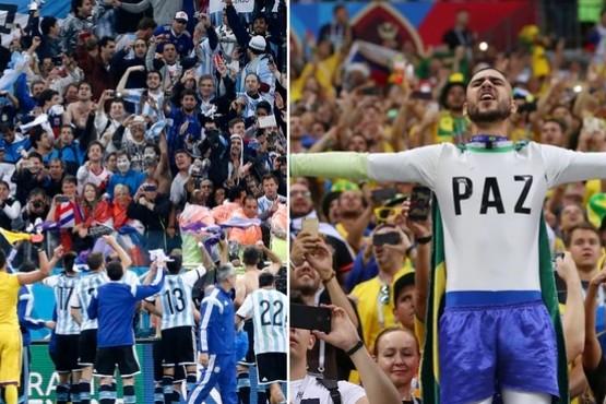 La alianza de las barras argentinas y brasileñas para la Copa América