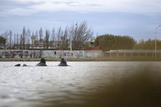 Los buzos retomaron las tareas en la Laguna Ortiz