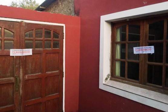 Clausuran preventivamente residencia informal