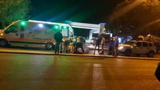Fuerte accidente de tránsito en Comodoro Rivadavia