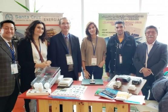 Santa Cruz mostró en Chile todo su potencial en energías alternativas