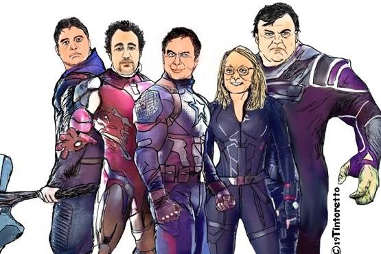 Los Avengers de la política local
