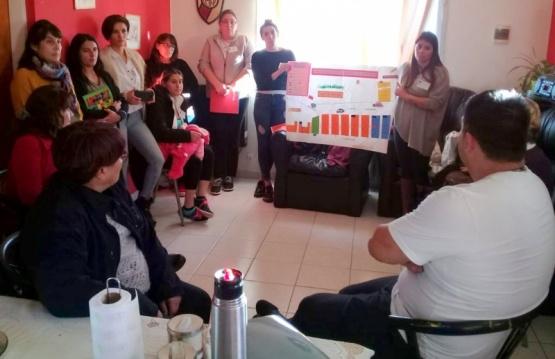 Estudiantes presentaron cartografía del barrio 150 Viviendas