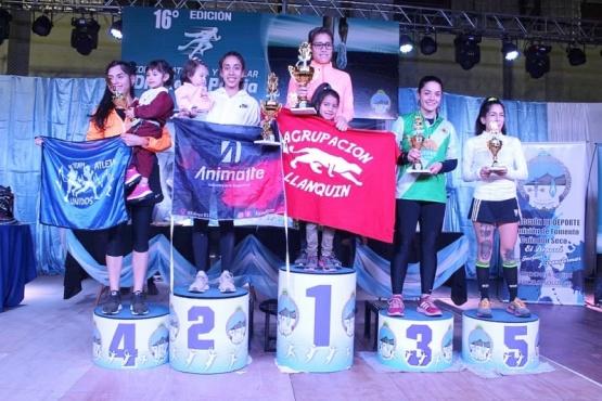 Algunos de los ganadores de la competencia.