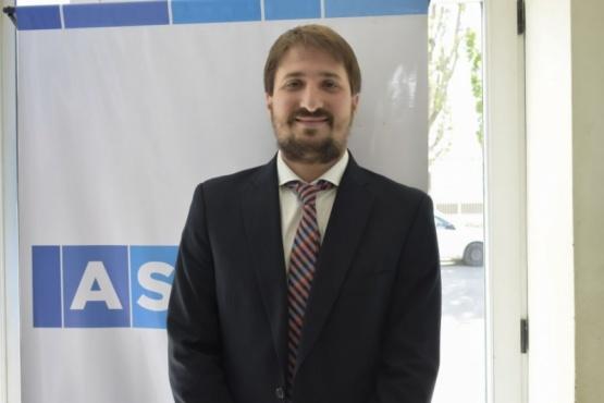 Director ejecutivo de la Agencia Santacruceña de Ingresos Públicos, Leandro Zuliani.
