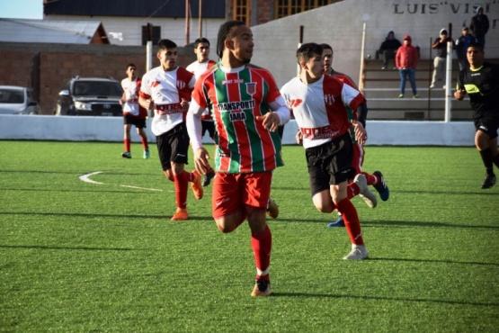 Atlético Santa Cruz e Independiente quedaron a mano