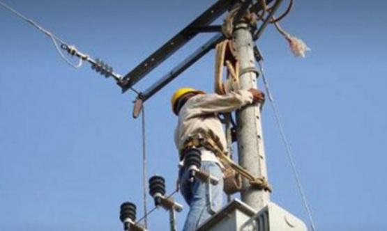 Hubo corte de luz y reparación del servicio eléctrico