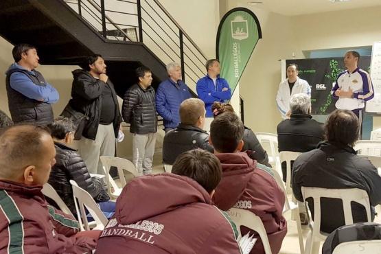 Se realizó una reunión de delegados de los Juegos Evita