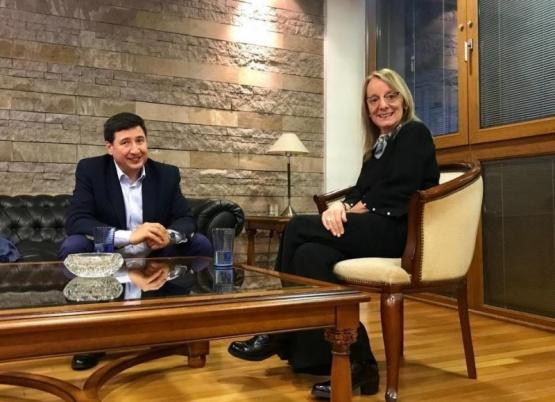 Alicia y Arroyo analizaron la situación económica y social