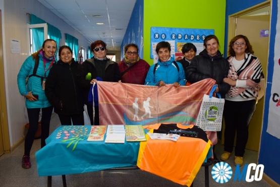 El Trekking Caleta Olivia se suma a la campaña de Donación de Órganos