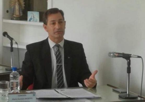 Puerto Santa Cruz despidió al concejal Montiel