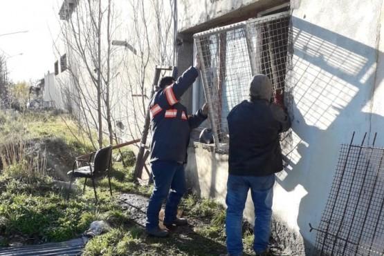 Iniciaron las tareas de refacción de los caniles ubicados en las dependencias de Bienestar Animal.