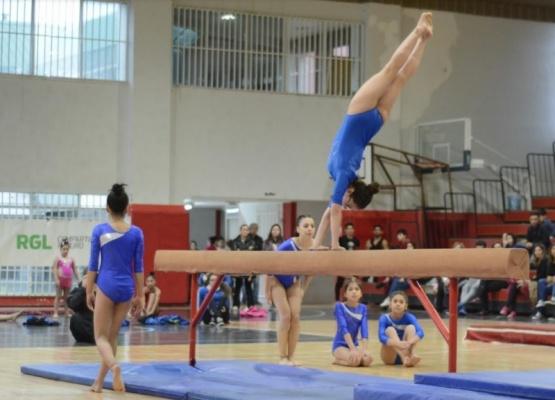 Buena participación en el encuentro de gimnasia artística y rítmica
