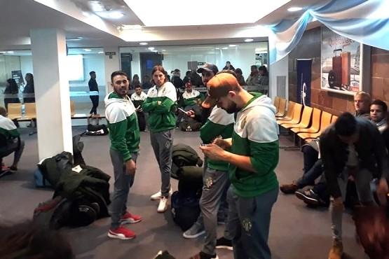 Boxing se instaló en Mar del Plata a esperar por la final.