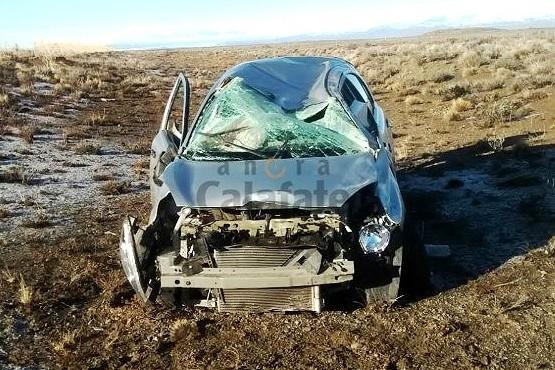 Un turista alemán se accidentó camino a El Chaltén
