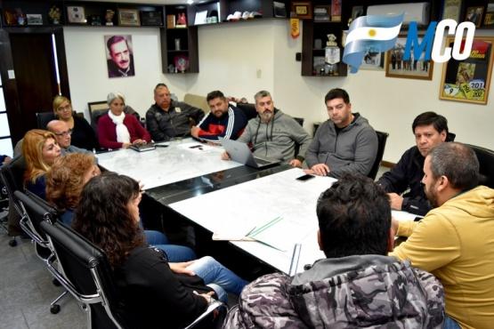 FUVECO y Prades se reunieron por problemáticas barriales