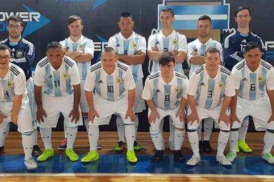 La Selección Argentina Down jugará hoy la final del Mundial de fútbol contra Brasil
