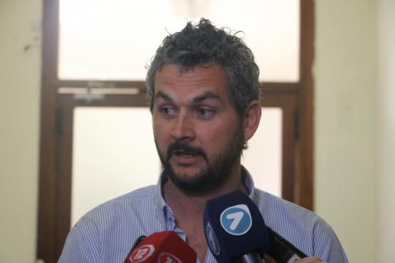 El presidente de la Administración de Vialidad Provincial (AVP), Nicolás Cittadini.