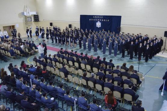 Escuela de Cadetes de Policía conmemoró su 83° Aniversario