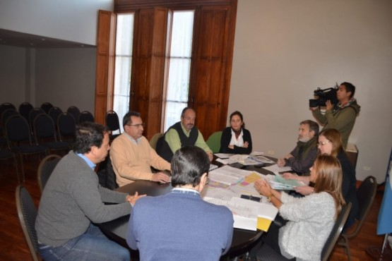 Vialidad Provincial y el Municipio evalúan ordenamiento vial de la ciudad