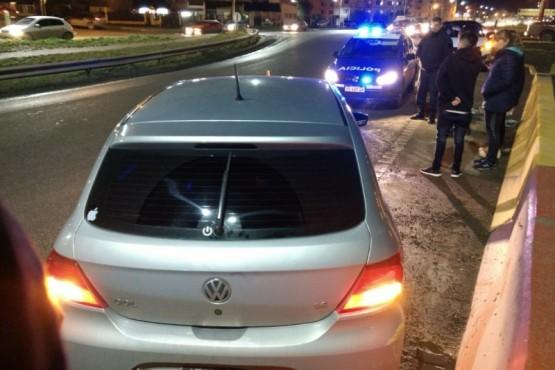 Accidente sin heridos en la Autovía de Río Gallegos