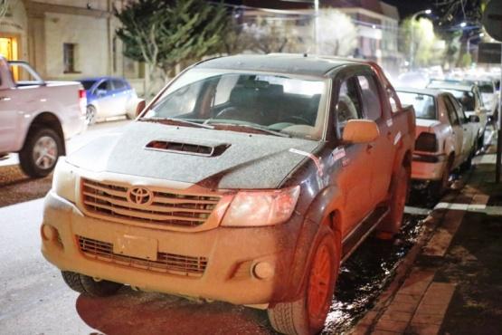 Luego del accidente la camioneta fue secuestrada. (Foto: C.G.)