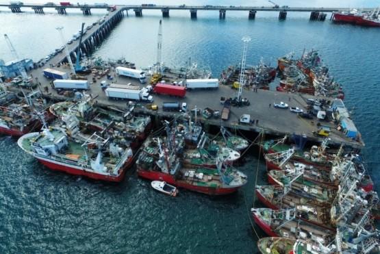Chubut vuelve a incrementar las descargas por puertos generando mayor mano de obra local