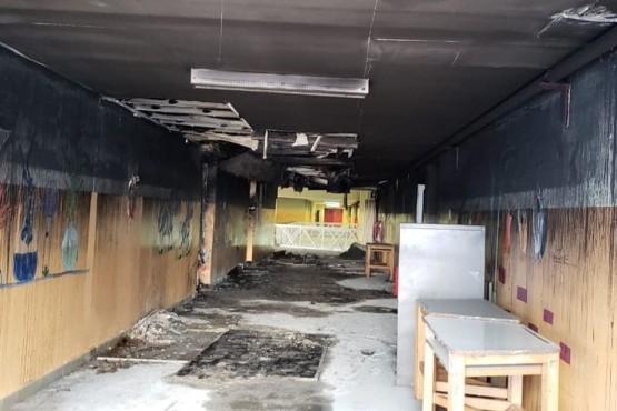Elevan la causa a juicio oral el incendio intencional a institución escolar