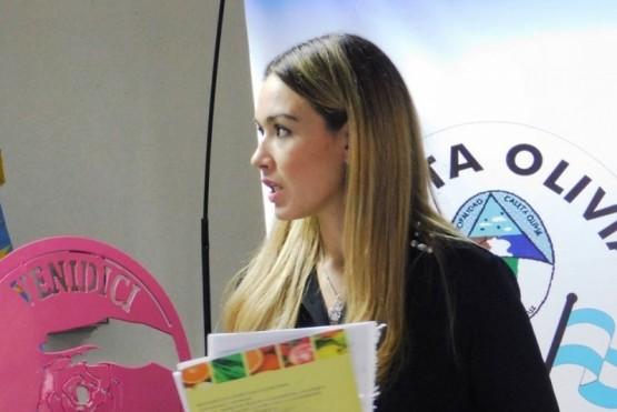 Gabriela Macías, referente en la materia.