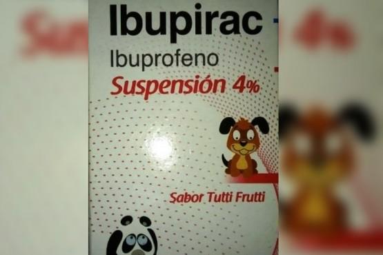 Retiran del mercado un lote de Ibupirac para niños y adultos mayores