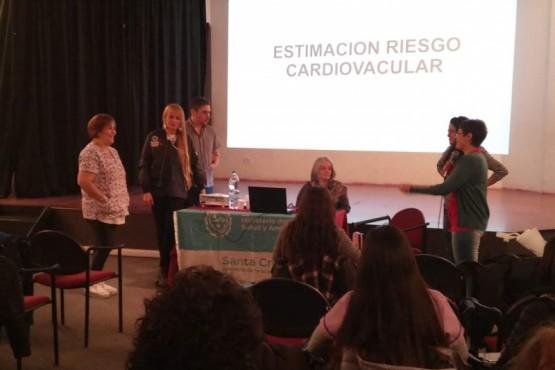 Jornada sobre hipertensión para agentes sanitarios