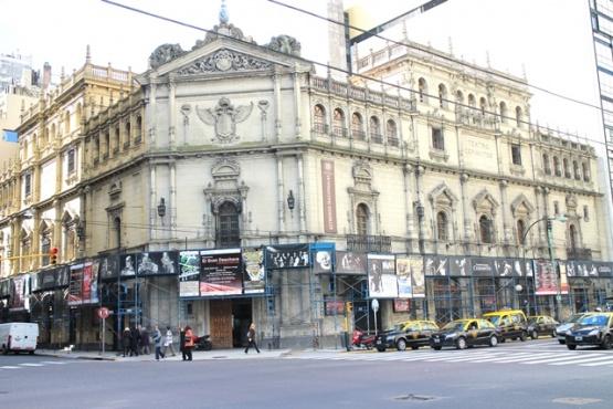 Proyectos teatrales santacruceños podrán sumarse a la temporada 2020 del Teatro Nacional Cervantes