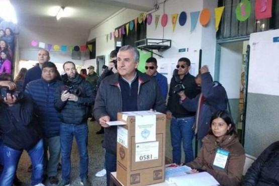 Votó Gerardo Morales: