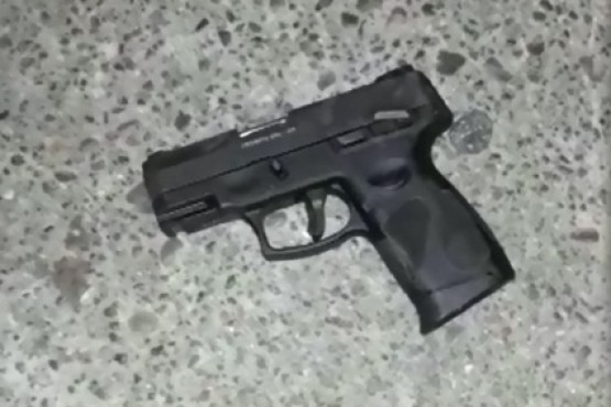 Detenido por disparar en plena calle