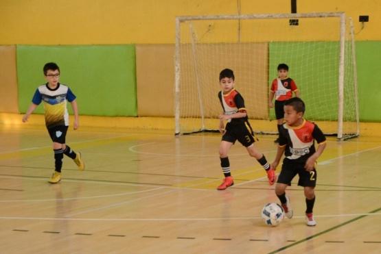 Se jugó una nueva fecha de la Liga Municipal de Futsal