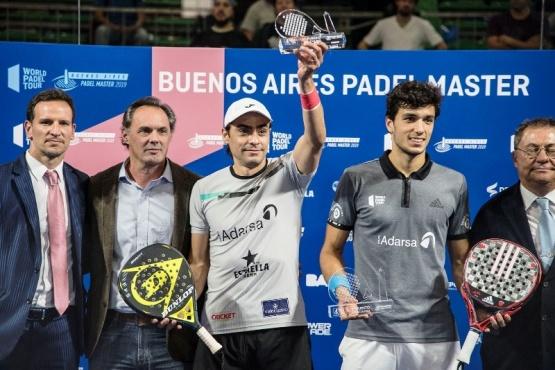 Mieres y Galán campeones del Buenos Aires Padel Master
