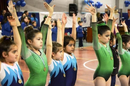 Hubo torneo local de gimnasia artística