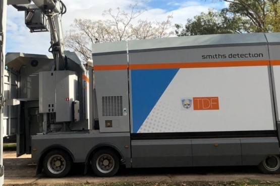Confirman la pronta instalación del escáner en el paso fronterizo de San Sebastián