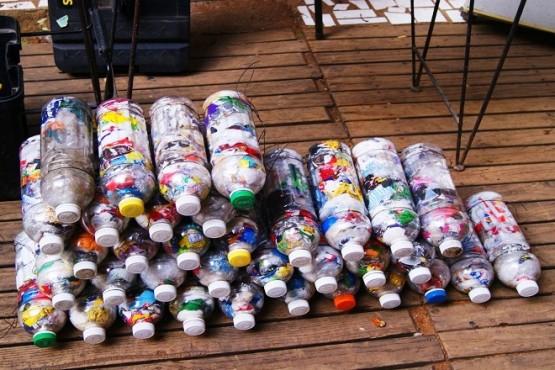 Ecoladrillos: una iniciativa que se replica en Río Gallegos