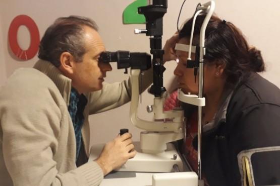 Hubo atención oftalmológica y otorrinolaringológica en el San Benito