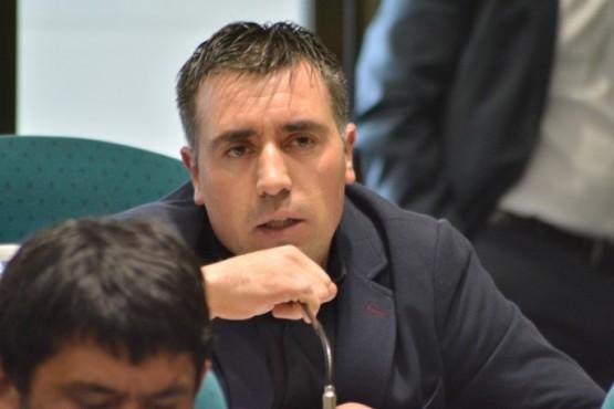 El diputado por el pueblo de Gobernador Gregores, Claudio Barría
