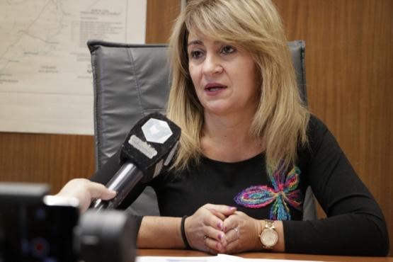 La gerenta general del Instituto Provincial de la Vivienda y Desarrollo Urbano (IPCyDU), Ivana Papaiani.