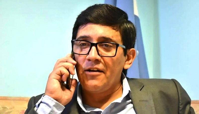 Concejal Javier Aybar, partido vecinal.