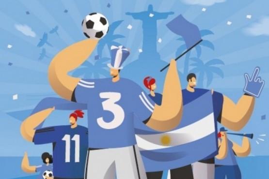 Galleguense ganó un viaje a la Copa América