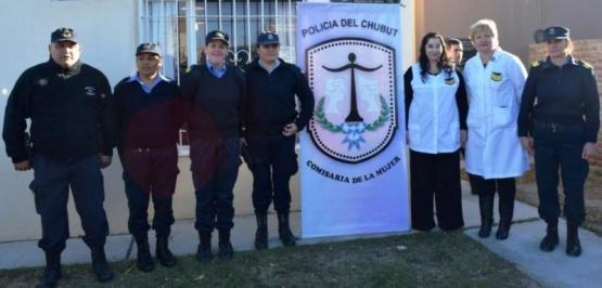 Se inauguró la Comisaría de la Mujer en Gaiman