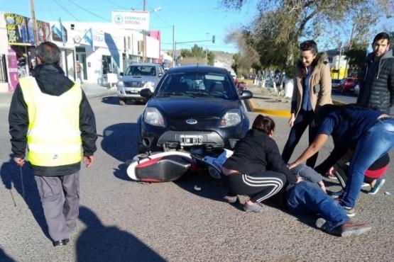 Accidente en Comodoro deja a un lesionado