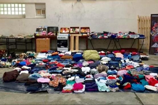 Comisarías repartirán donaciones de 'abrigo'