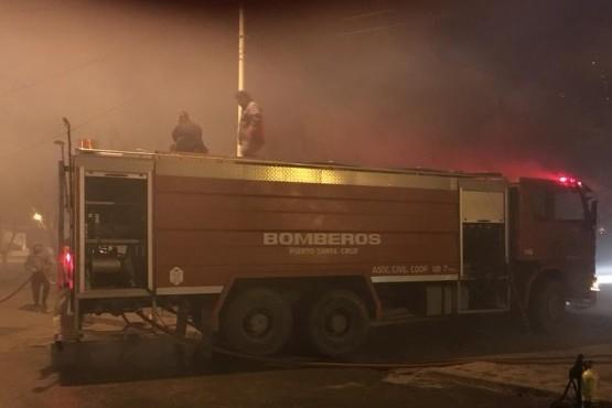 Ardió una casa en Laprida en una semana trágica para Comodoro